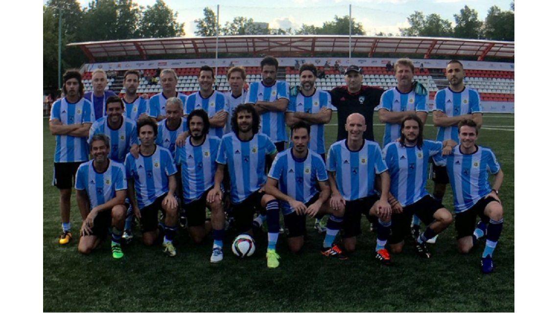 La Selección argentina de artistas protagonizó un papelón en el Mundial