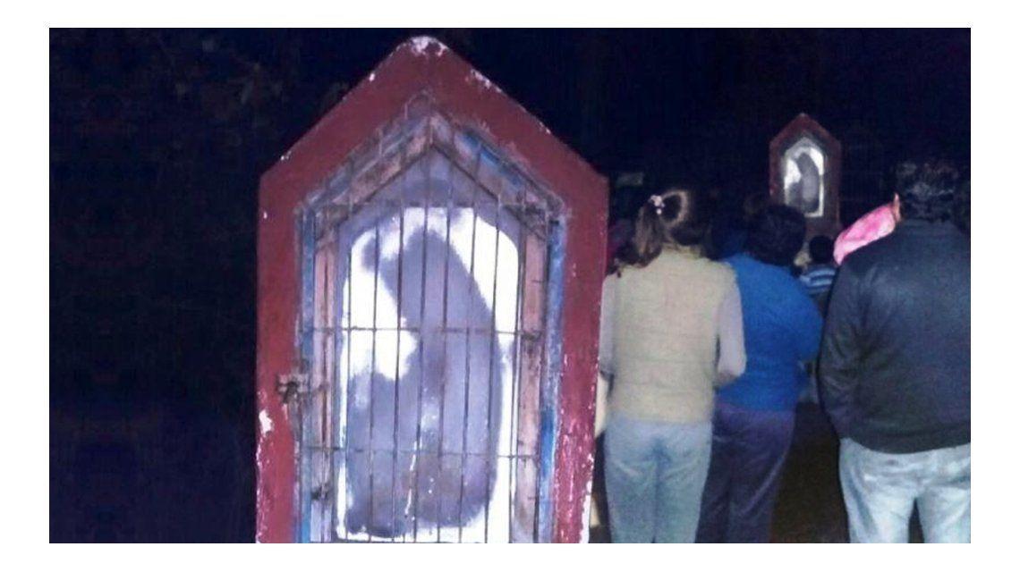 La imagen religiosa que conmociona a un pueblo en San Juan