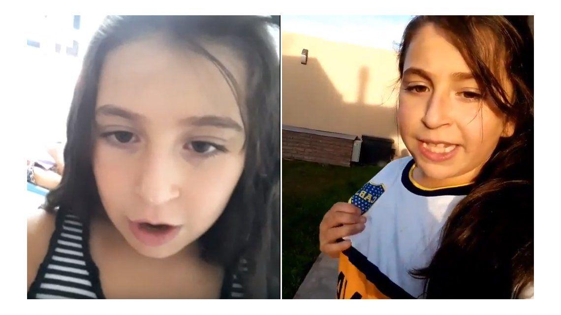 Conocé a Camila, la niña de 9 años que conquistó Instagram con sus videos