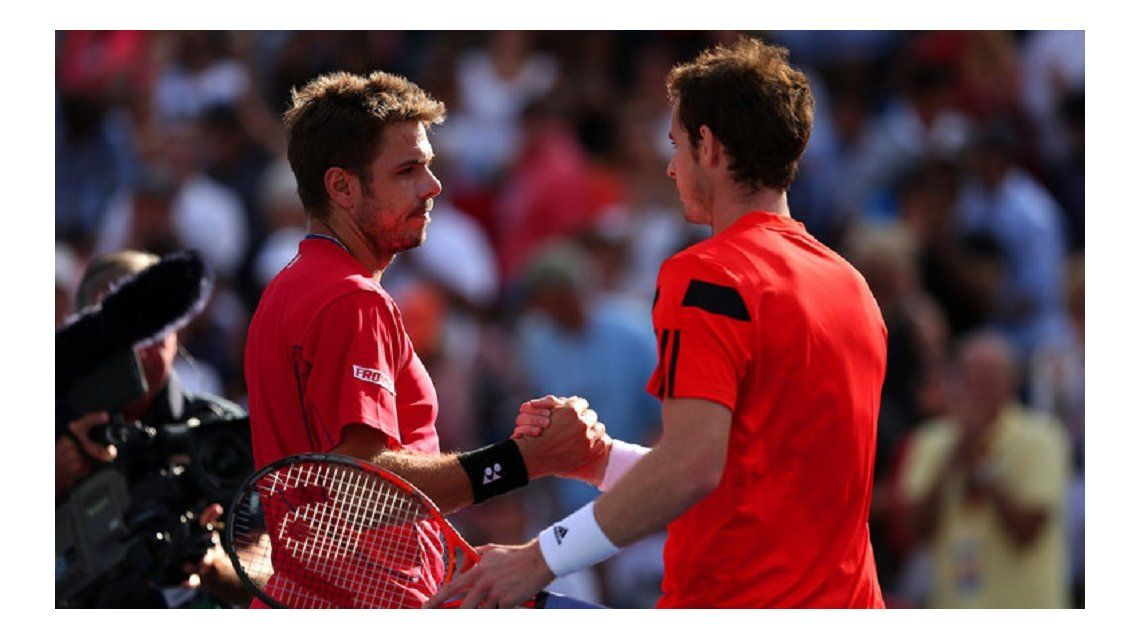 Wawrinka y Murray, los primeros semifinalistas en Roland Garros