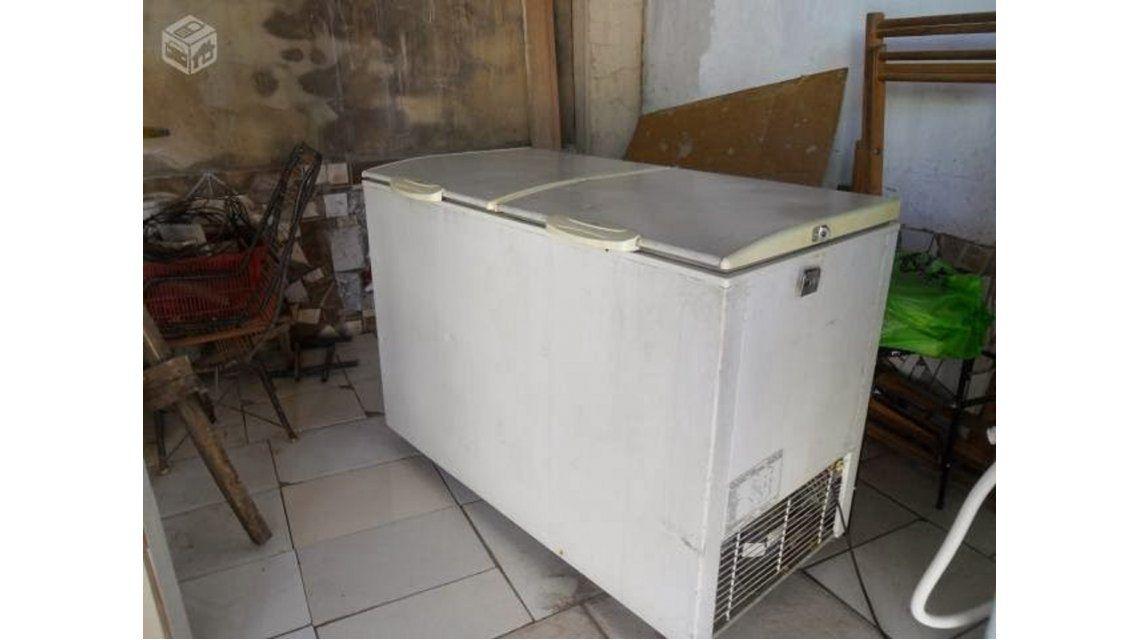 Insólito: Le vendió a su vecina un freezer con un cadáver adentro