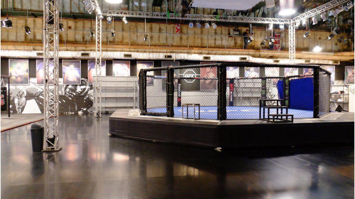 Impactante: el reality de la UFC que se filma en Argentina, por dentro