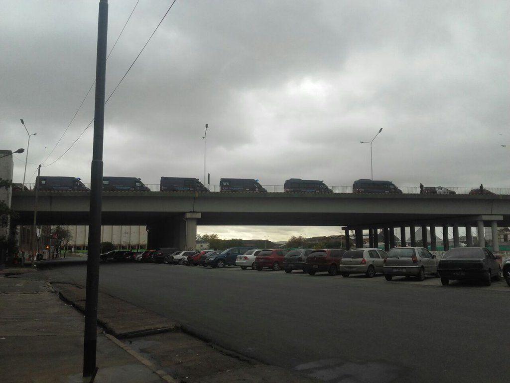 Corte parcial en Puente Pueyrredón, mano a Capital