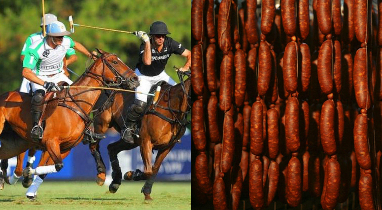 Un hombre robaba caballos de polo para hacer chorizos y salamines