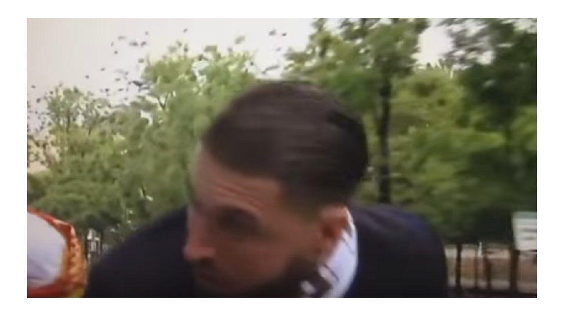Sergio Ramos y una celebración que casi termina en tragedia