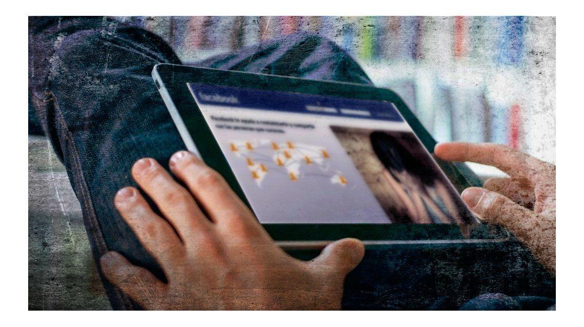 Un hombre denunció que alguien hackeó la cuenta de Facebook de su hija y colocó su foto en una página web.