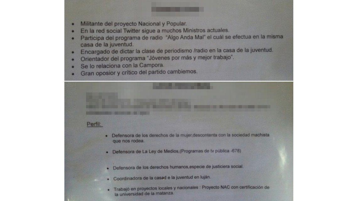 Denuncian persecución ideológica a trabajadores municipales de Luján