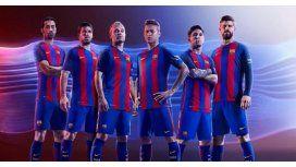 La nueva piel de Messi: así será la camiseta del Barcelona