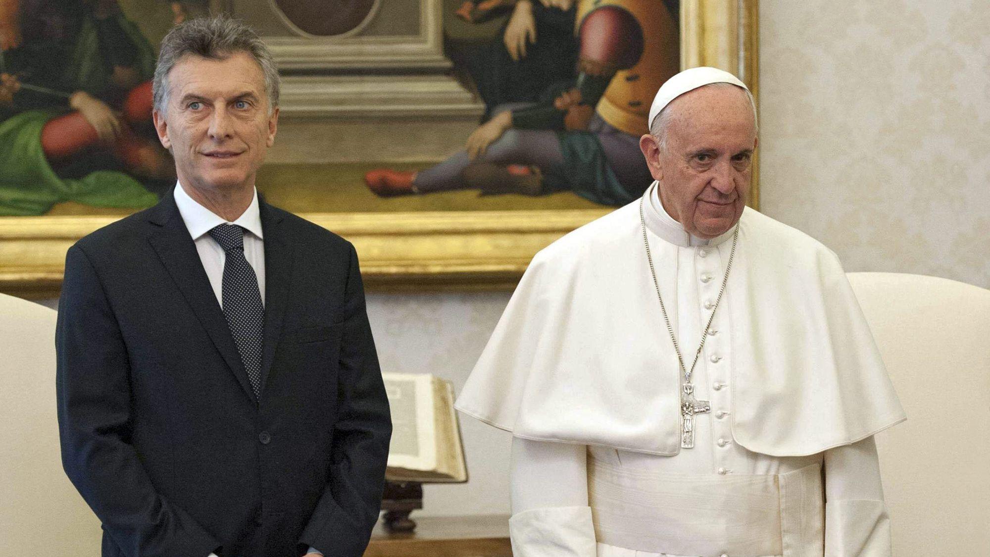 El papa Francisco recibirá en el Vaticano a Macri el sábado 15 de octubre