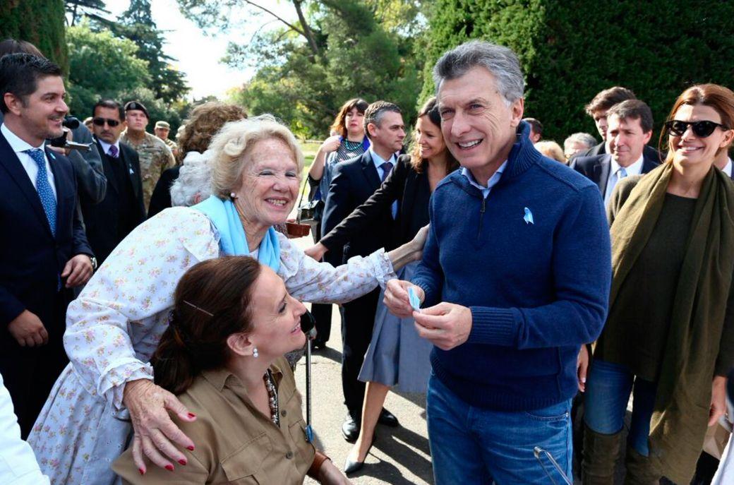Macri encabezó un almuerzo por el 25 de Mayo en la Quinta de Olivos