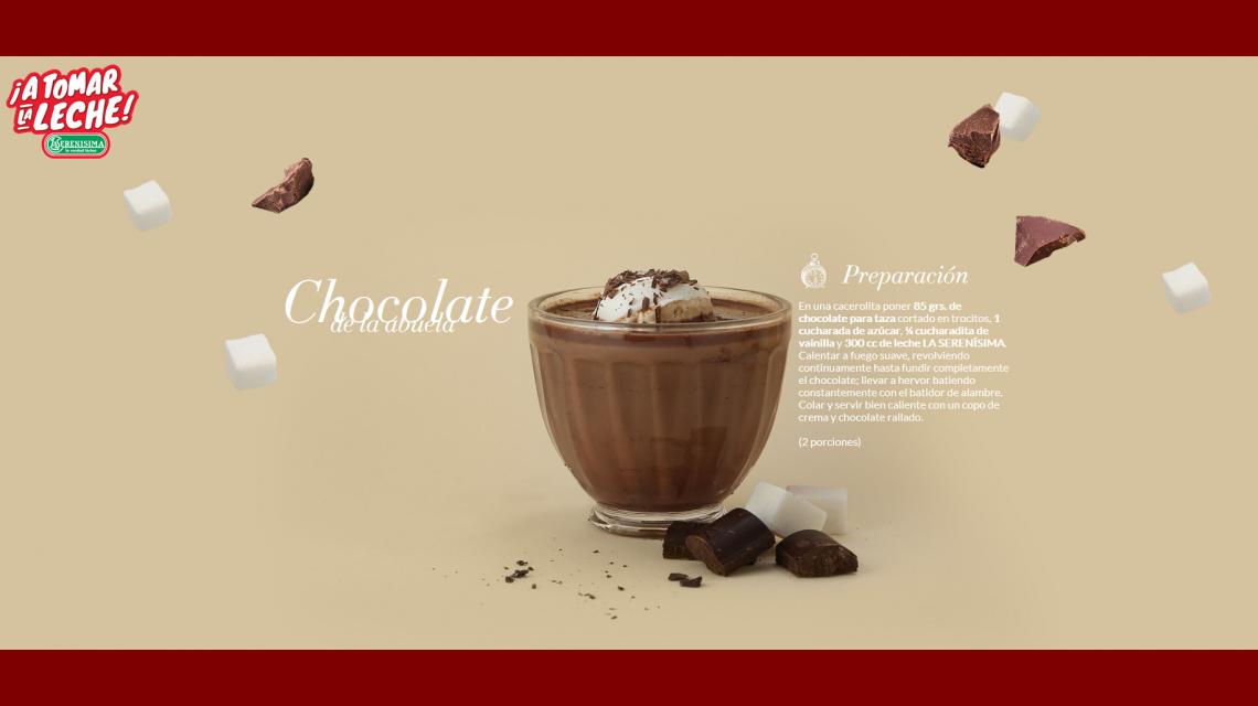 Cómo se prepara el chocolate de la abueta