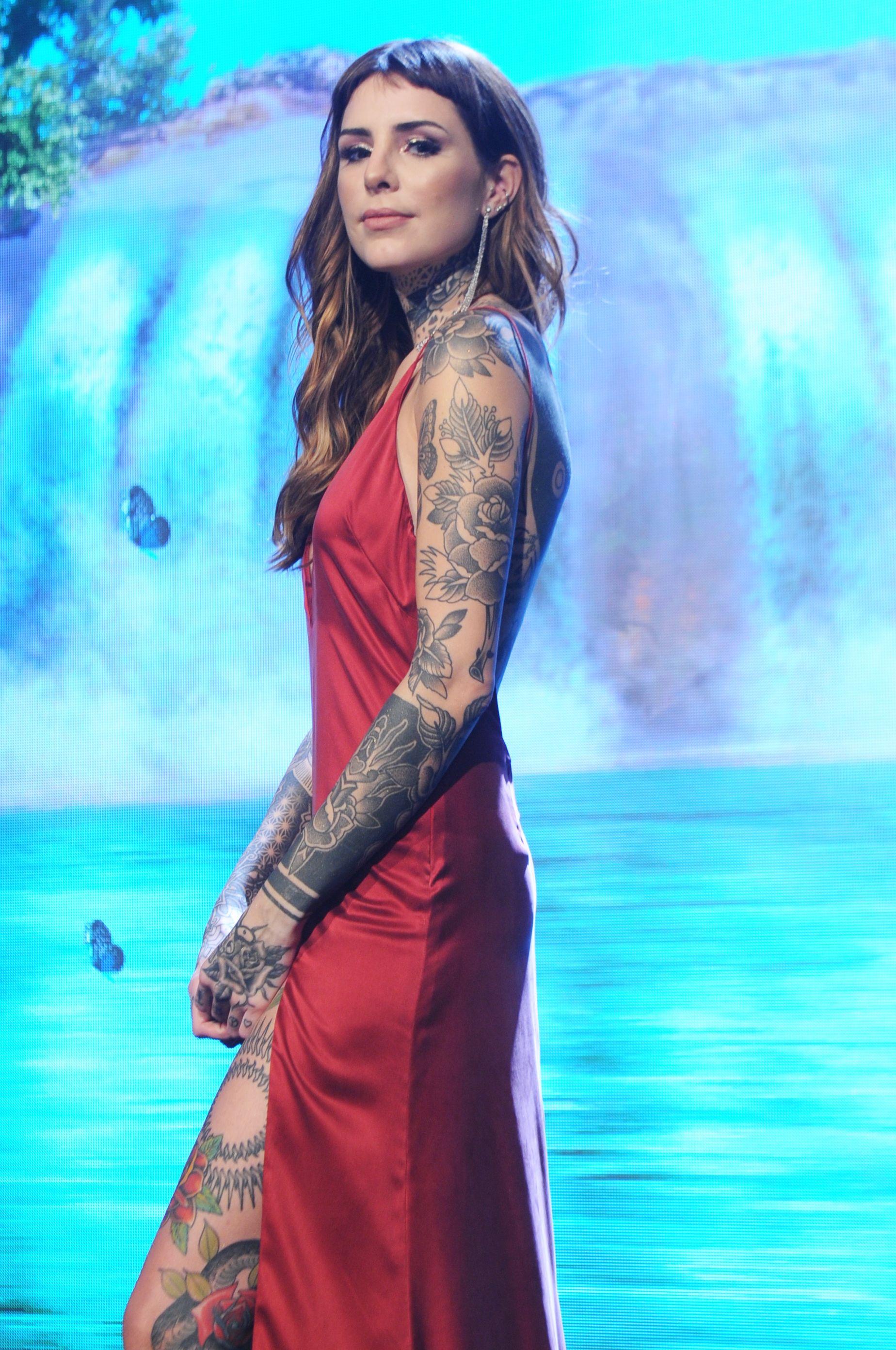 Cande Tinelli, tras su nuevo tatuaje: ¿No entendieron que pienso cubrirme todo el cuerpo?