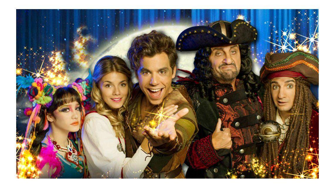 Peter Pan, podemos volar adelantará su espectáculo en la apertura de Showmatch