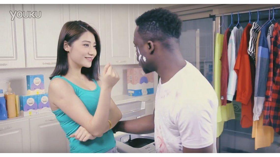 VIDEO: ¿La publicidad más racista de la historia?