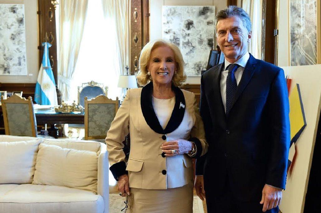Mirtha almorzó con Macri y le reclamó por las tarifas: Le dije que eran muy altas