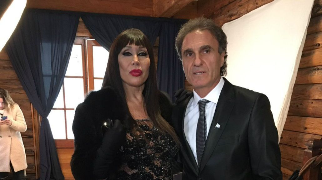 VIDEO: El encuentro de Moria Casán y Oscar Ruggeri en La Foto Del Bailando