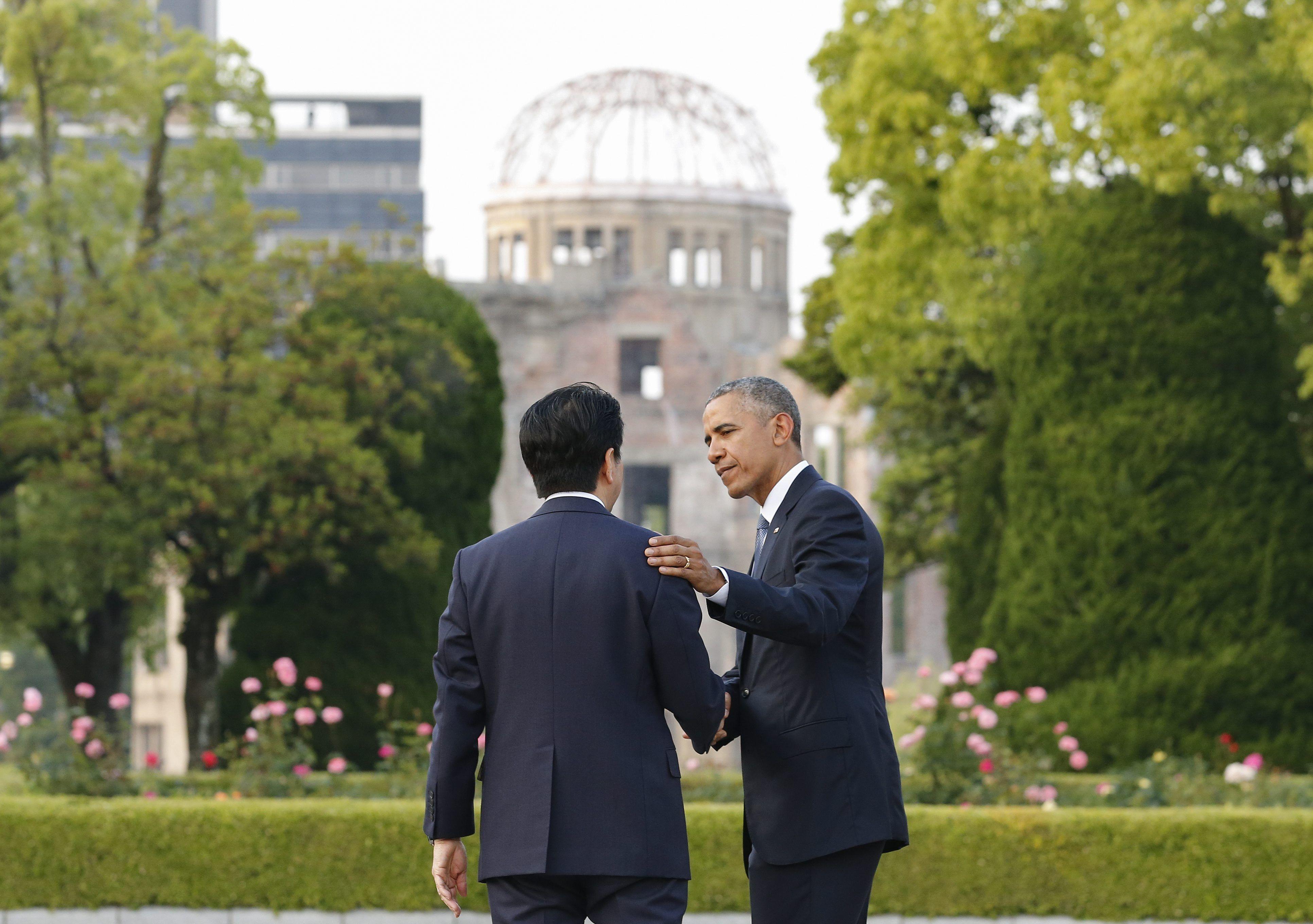 Histórico: Obama, el primer presidente de EE.UU. en visitar Hiroshima