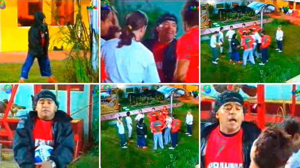 Se develó la historia del paquete que dejó Maradona en Gran Hermano: ¿era cocaína?