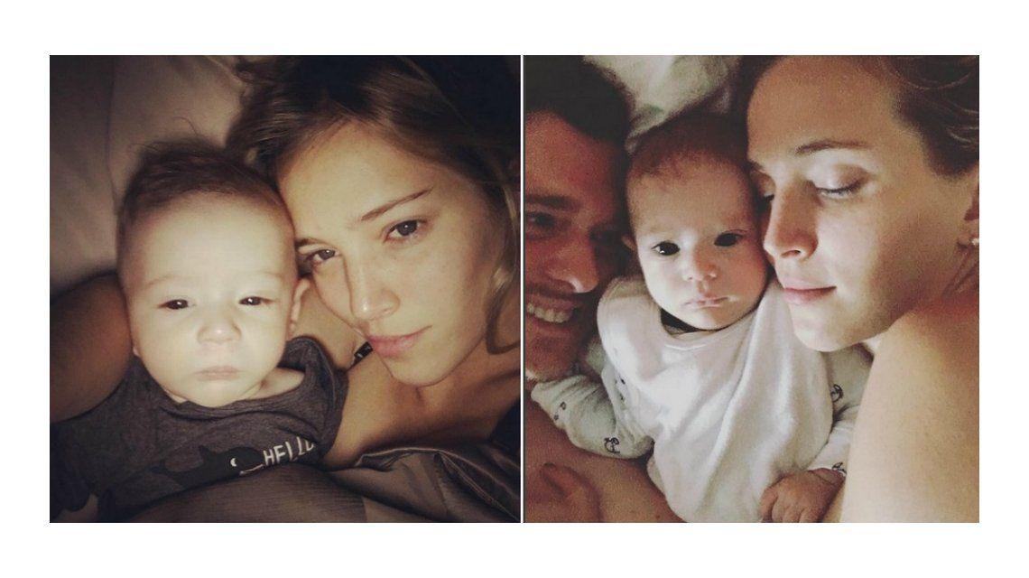 La selfie a cara lavada de Luisana Lopilato y su hijo Elías