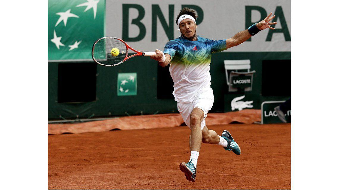 Mónaco cayó ante Ferrer y Roland Garros se quedó sin tenistas argentinos