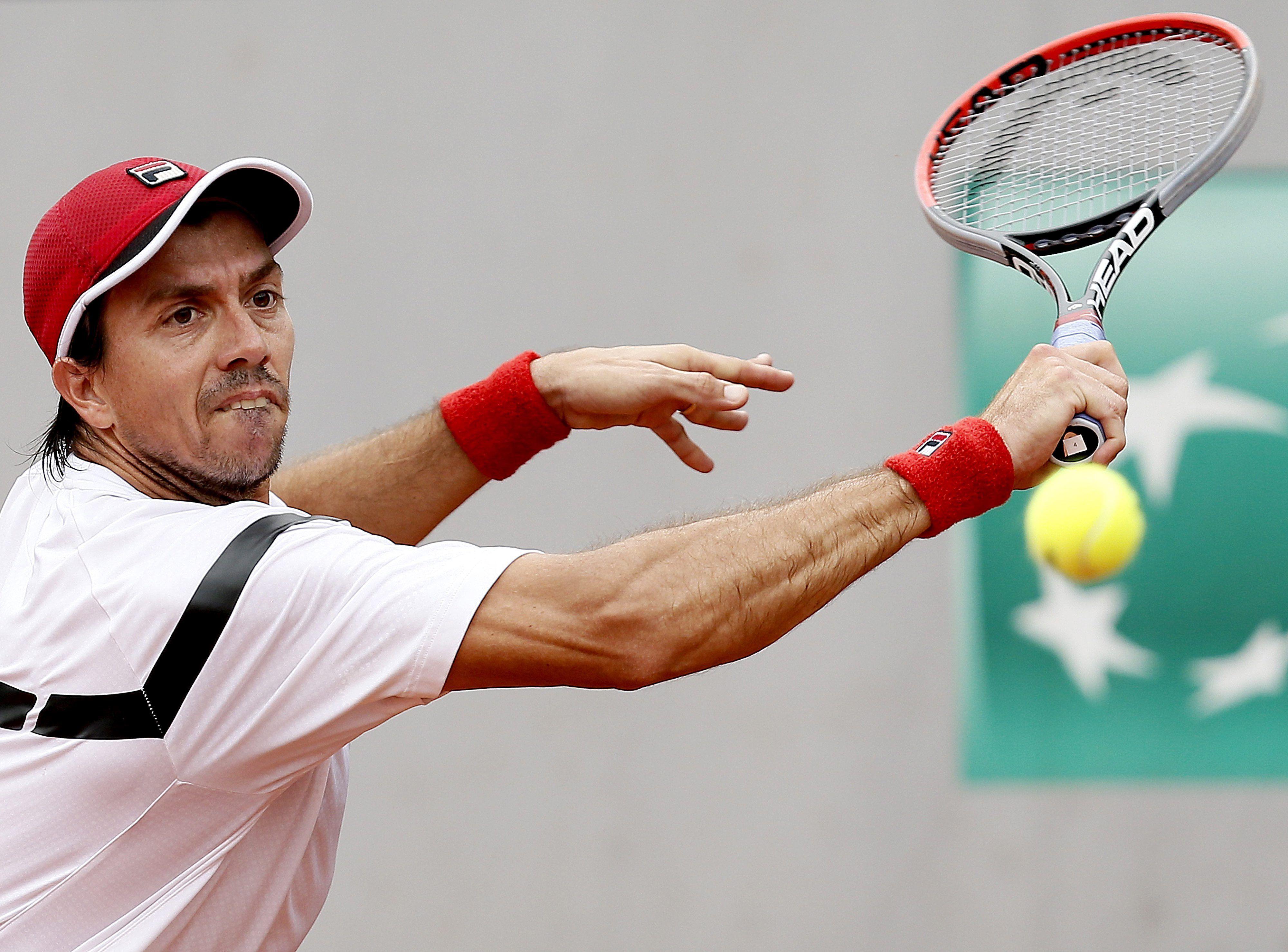 Berlocq dio batalla pero no pudo con Goffin y quedó afuera de Rolland Garros