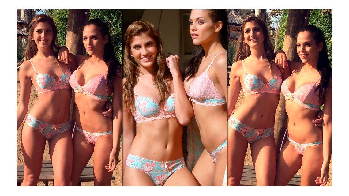 Cande Ruggeri, sensual con Barbie Vélez