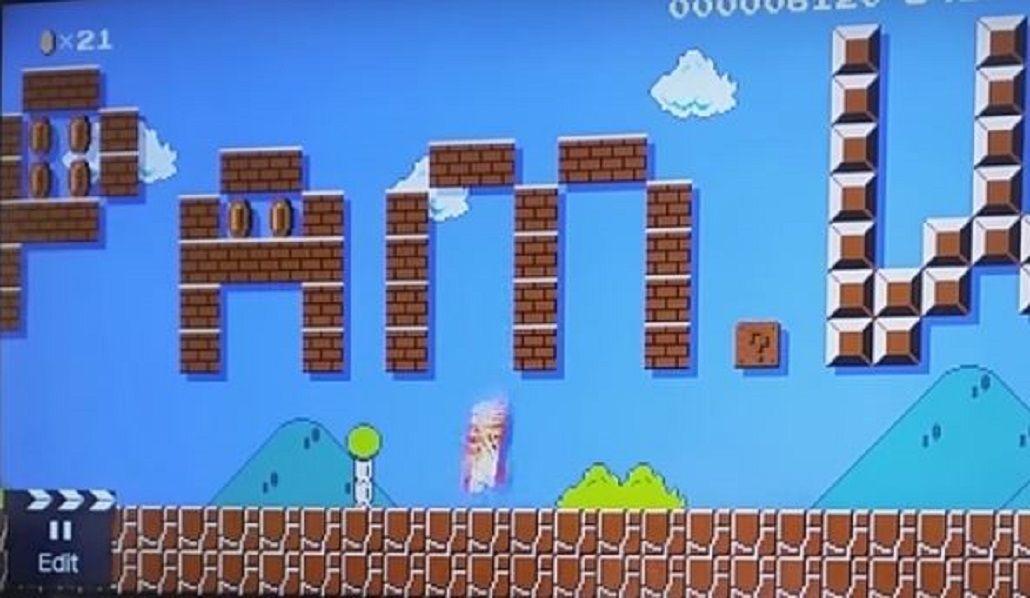VIDEO: Creó un nivel del Super Mario para pedirle casamiento a su novia