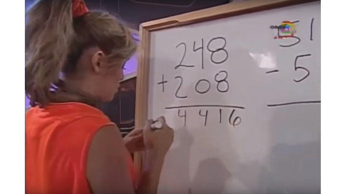 Mirá la burrada matemática de una participante al aire