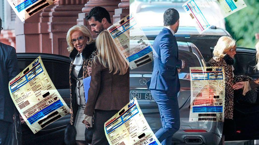 Mirtha Legrand debe casi 40 mil pesos de patentes del auto con el que visitó a Macri