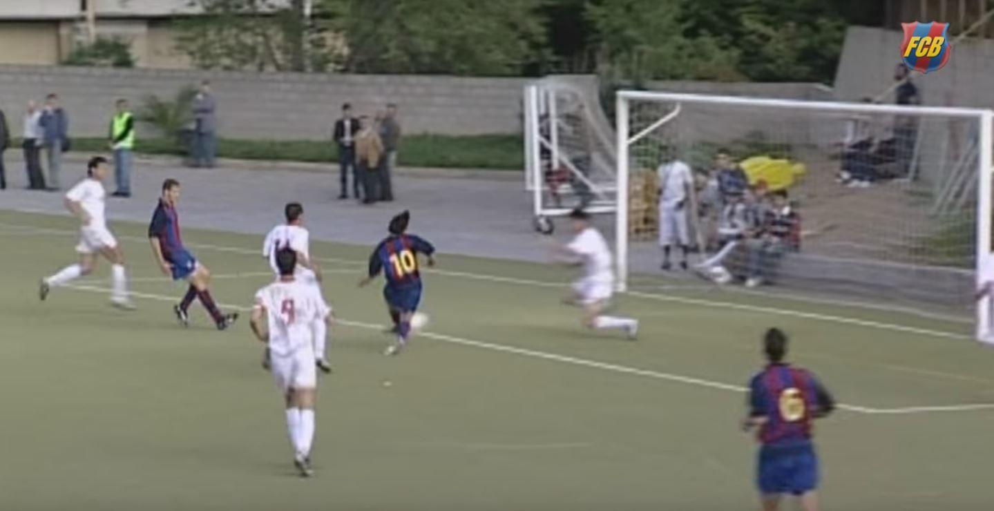 El Barcelona revela un video inédito de Messi