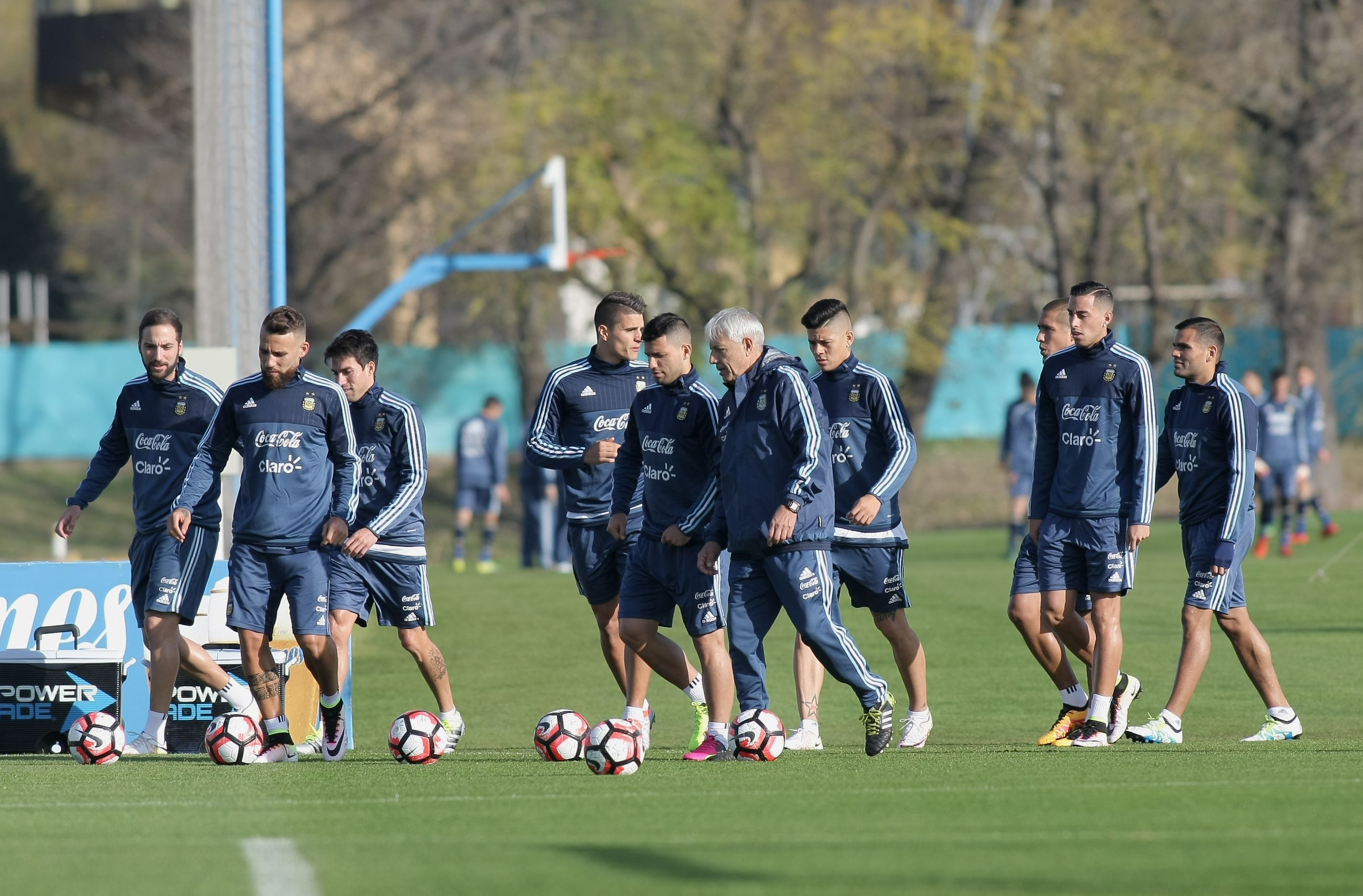 La Selección sigue su puesta a punto en Ezeiza de cara a la Copa América