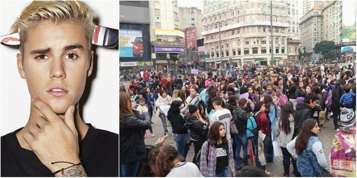 #MarchaBelieber: fans se movilizaron para que Justin Bieber pueda volver al país