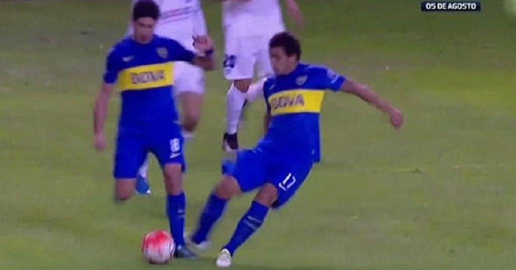 De no creer: no lo expulsaron, pero Pablo Pérez lesionó a un compañero