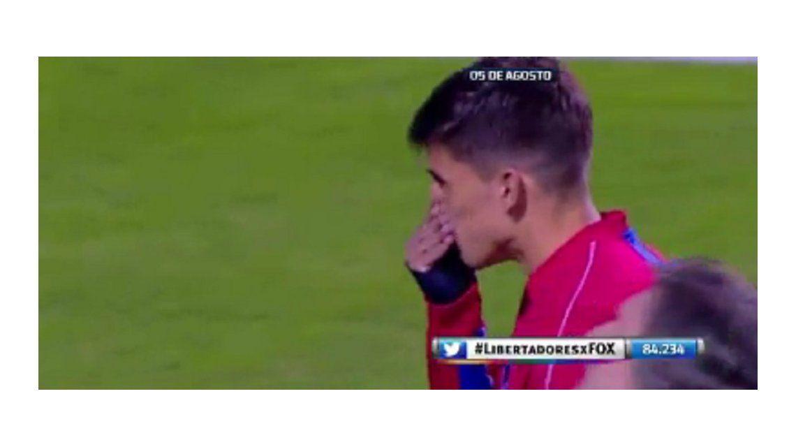 El gesto de un jugador de Nacional que se río de toda la tribuna de Boca