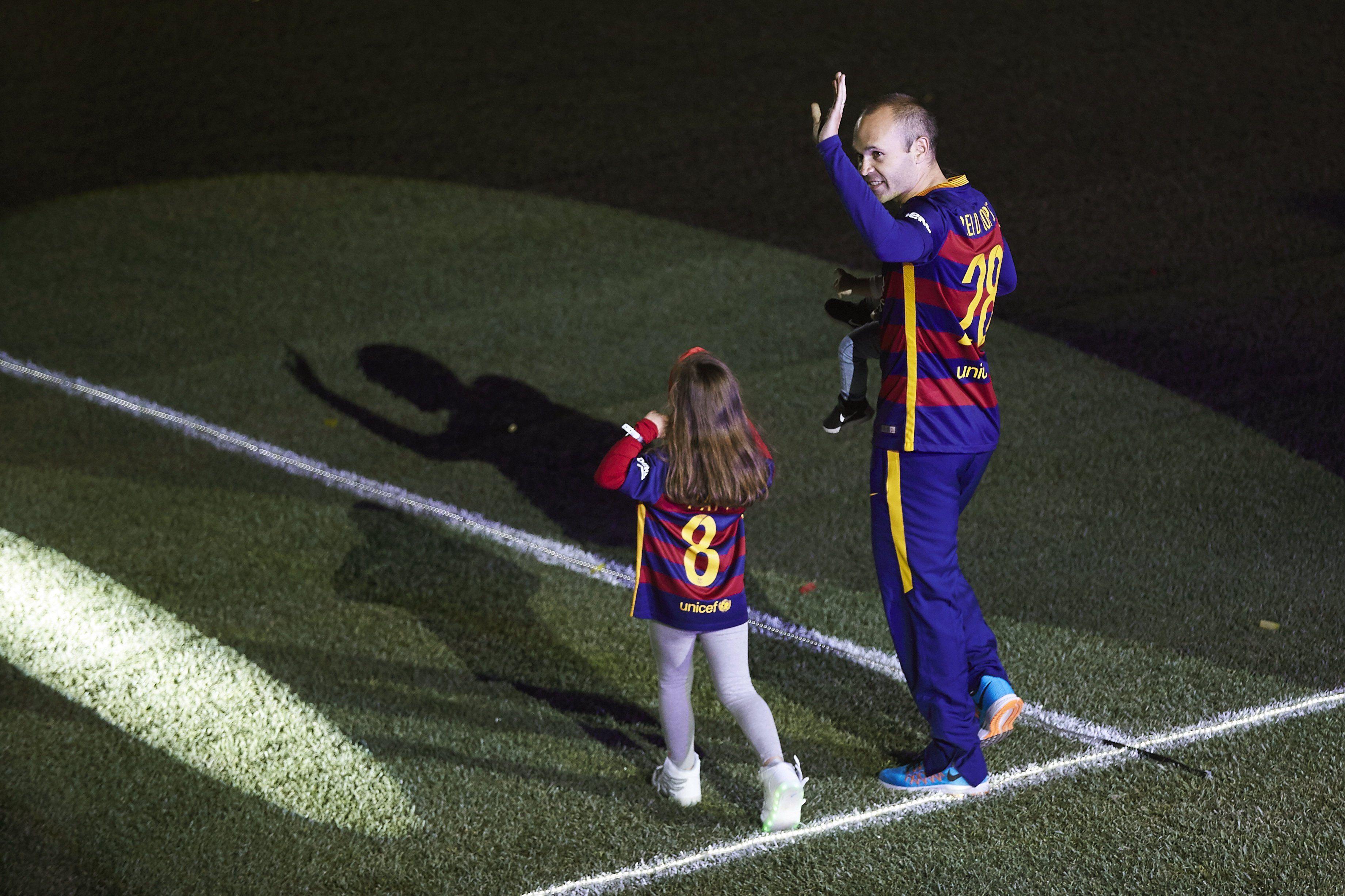 La gran fiesta del Barcelona en el Camp Nou