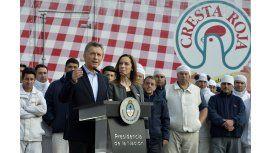 Cresta Roja: Macri la calificó de símbolo de la recuperación pero el conflicto sigue