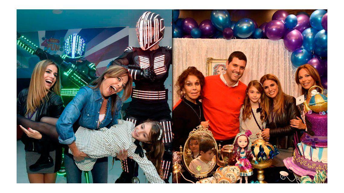 Las fotos de la fiesta de cumpleaños de la hija de Marina Calabró