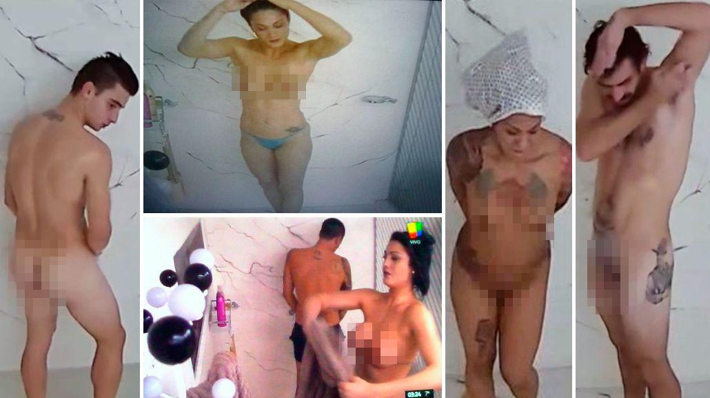 ¡Sin prejuicios! Los participantes de Gran Hermano ya se bañan desnudos ante las cámaras