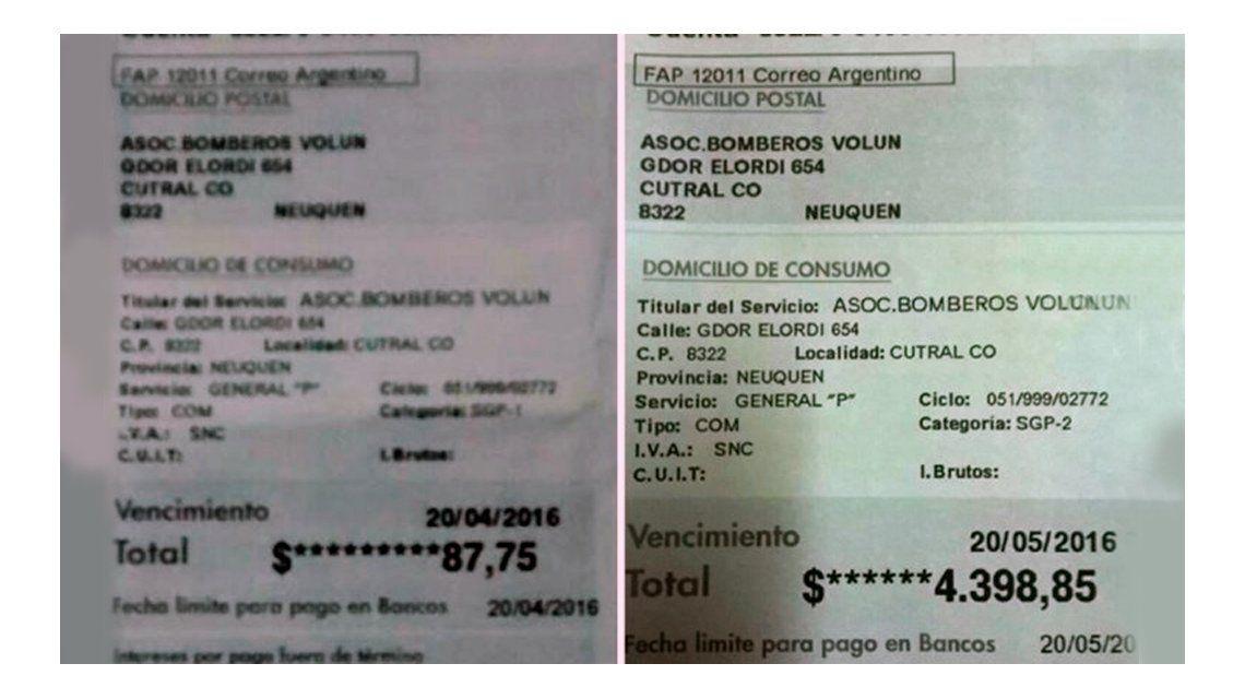 En llamas: por el tarifazo de gas, los bomberos debieron pagar 4.400 pesos