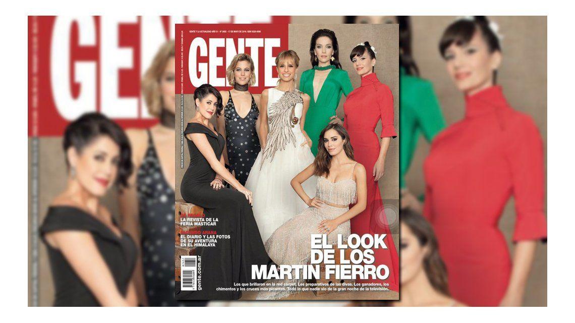 Los looks de los premios Martín Fierro, en las tapas de revistas