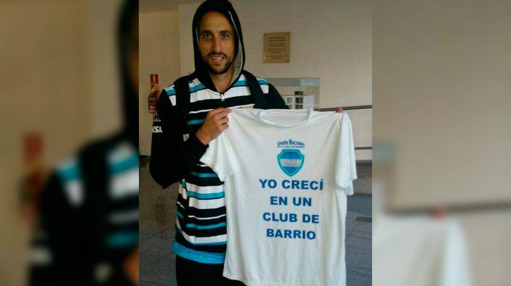 Emanuel Ginóbili se sumó a los reclamos de los clubes de barrio