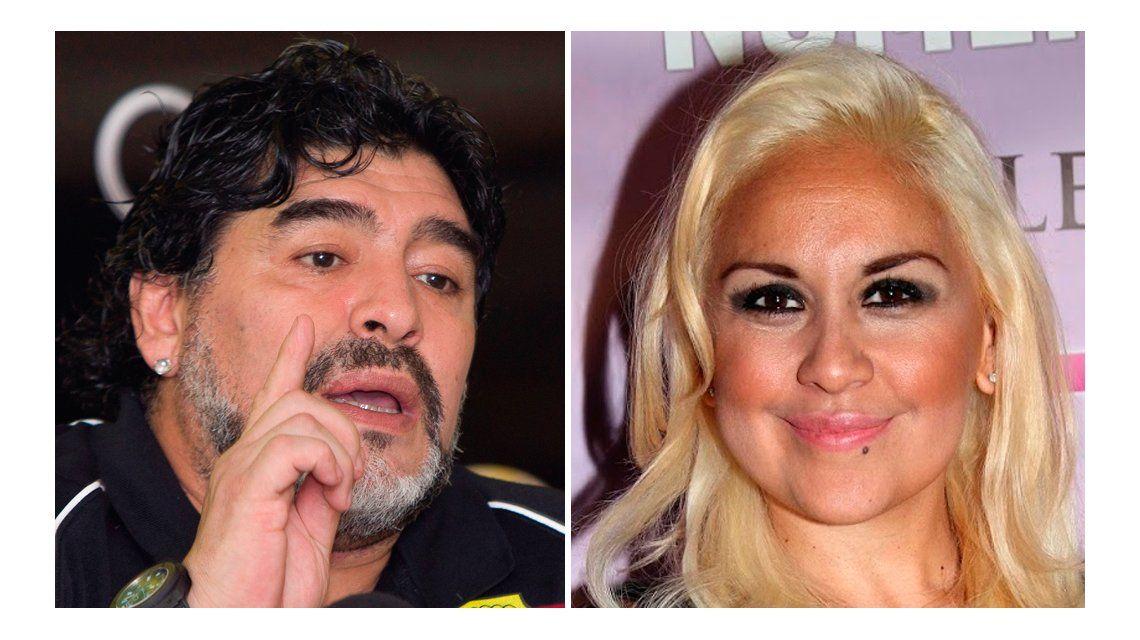 Ojeda habló sobre su relación con Diego Maradona