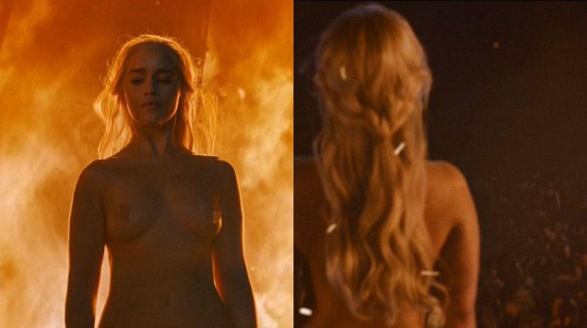 Madre De Dragones El Desnudo De Emilia Clarke En Game Of Thrones