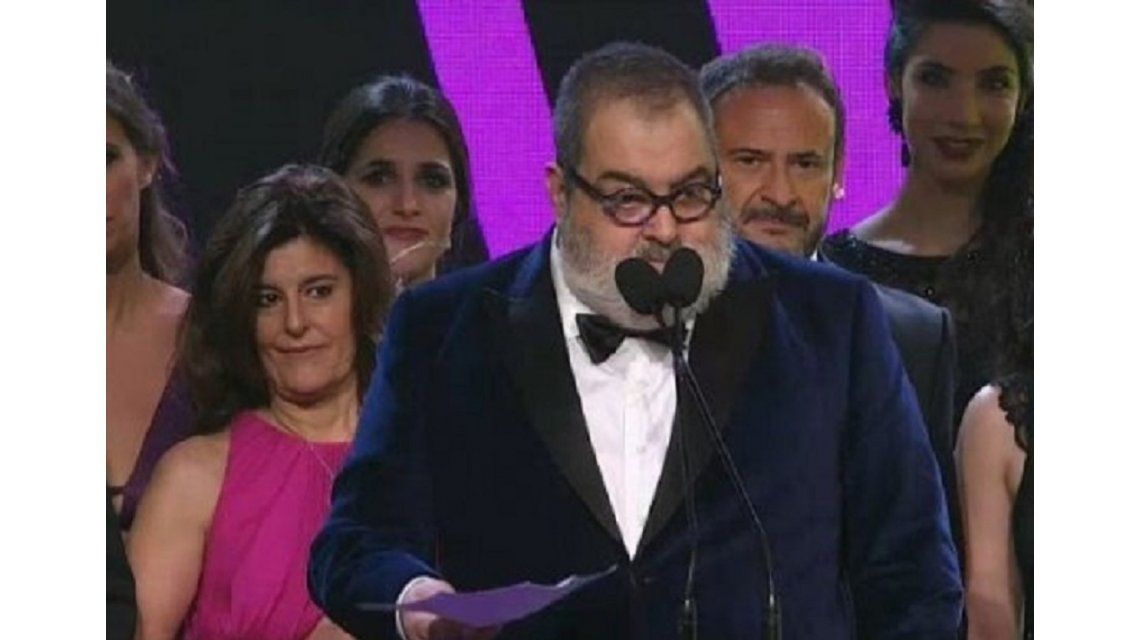 Jorge Lanata, abucheado al subir al escenario por hablar de política