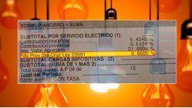 Tras el tarifazo, el Gobierno quita una recarga del 0,6% en las boletas de luz