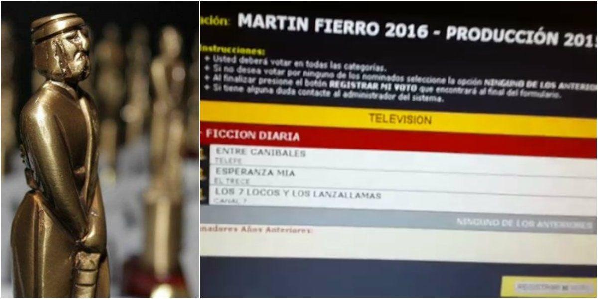 VIDEO: Conocé cómo se vota para los Martín Fierro