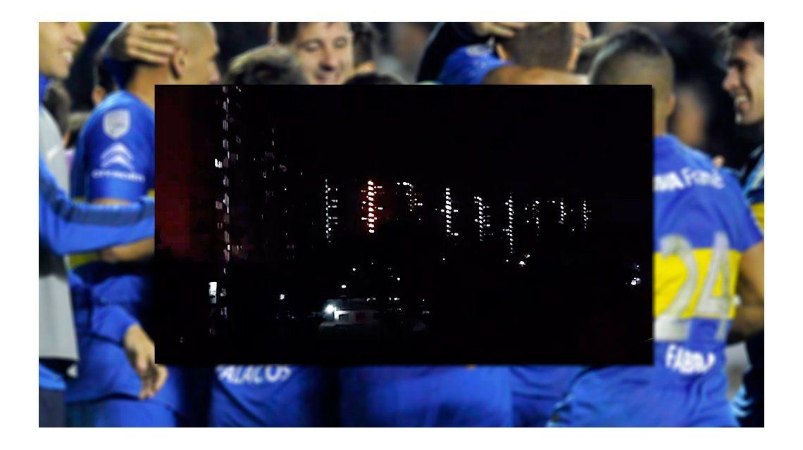 Ensordecedor: así se festejó la clasificación de Boca en Lugano I y II