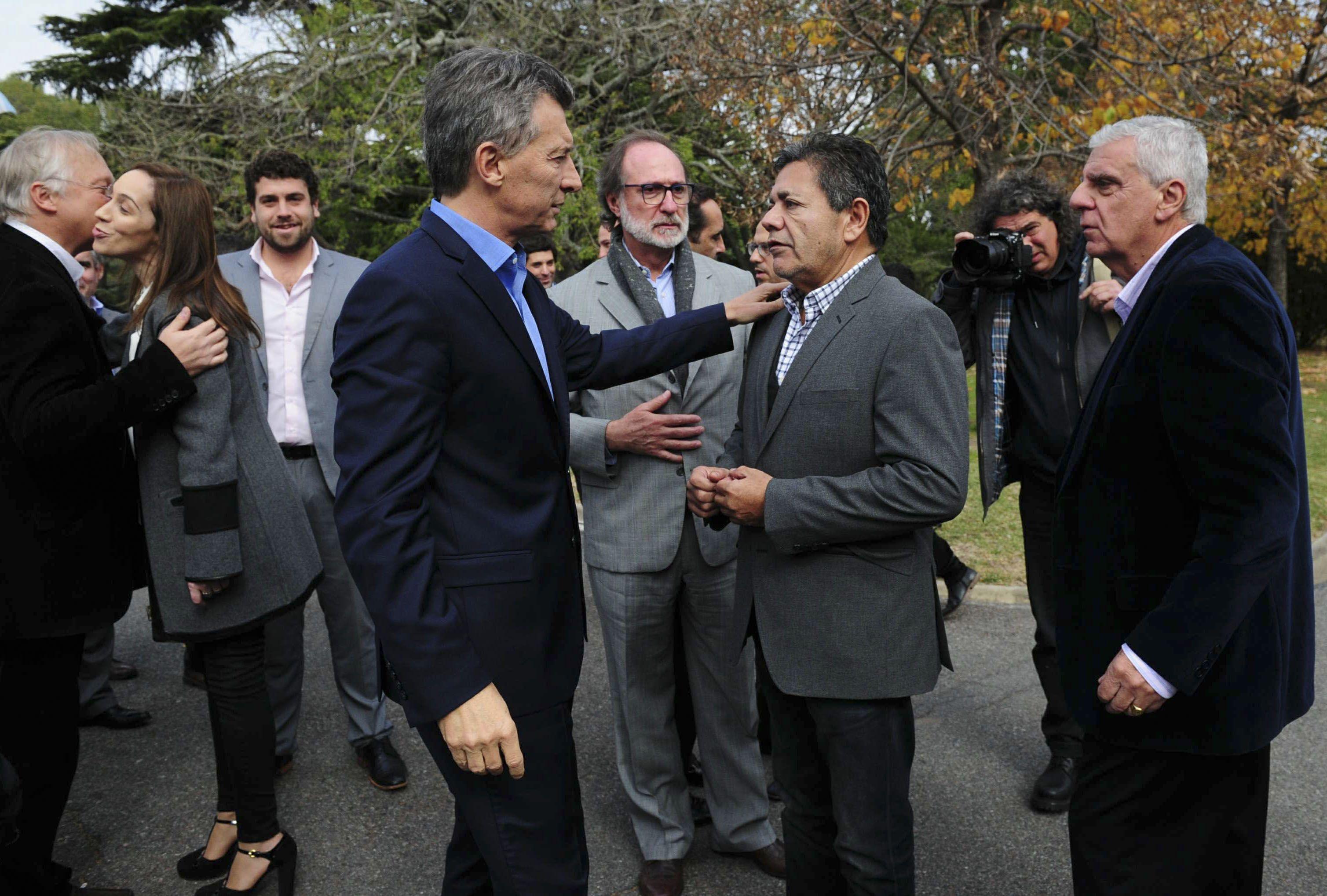 Macri encabezó firma de convenio entre AySA e intendentes del conurbano