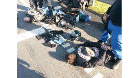Guerra motoquera: este lunes indagan a los detenidos y Dani La Muerte sigue grave