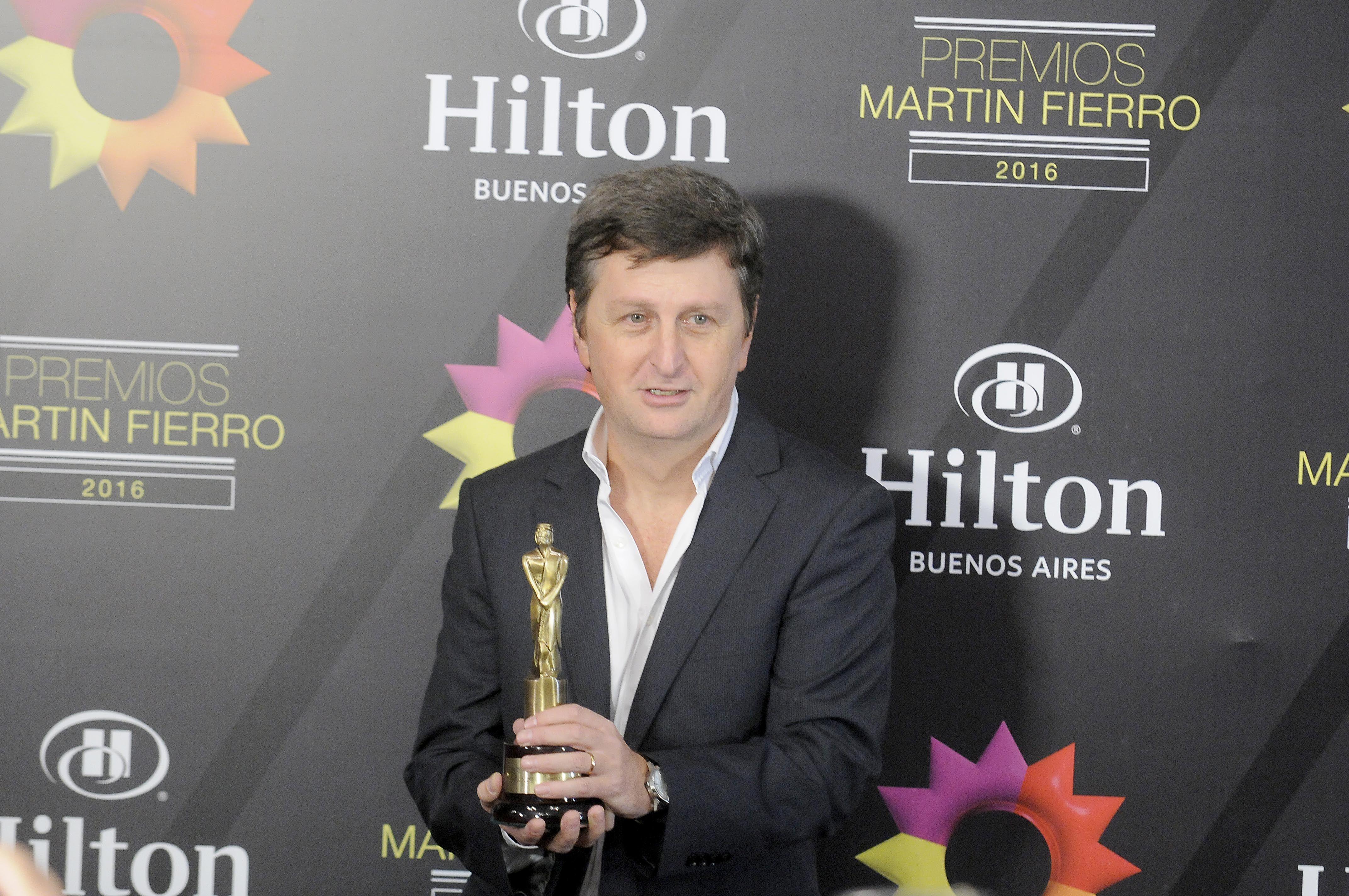 Las mejores fotos de la entrega de los Martín Fierro